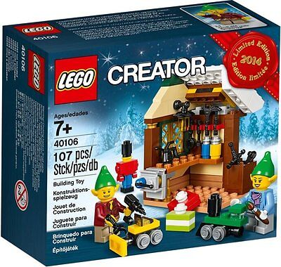 LEGO Atelier jouets lutins, Toy Workshop (40106) - NEUF/NEW - SCELLÉ/SEALED
