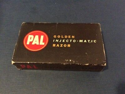 PAL Injecto-matic GOLD box papers injecto matic razor NOS