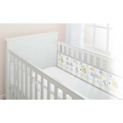Breathable Baby Mesh 2 Sided Cot/Cotbed Liner/ Bumper - Tiny Tatty Teddy