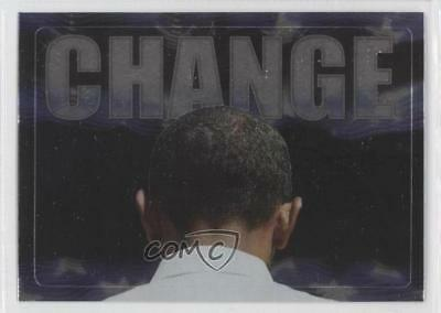 2008 Topps President Obama Collector Trading Cards Stickers Foil #3 Change 0m1