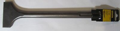 "NEW IRWIN 332010 SDS-MAX 3"" x 12"" ROTARY HAMMER BIT SCALING/CHIPPING CHISEL"