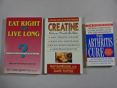 Lot: 7 Health and Healing Books Paperback