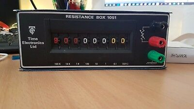 RESISTANCE BOX, TIME ELECTRONICS 1051 substitution box
