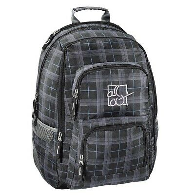All Out 124838 Rucksack Louth Harvest Check, 26 Liter, grau