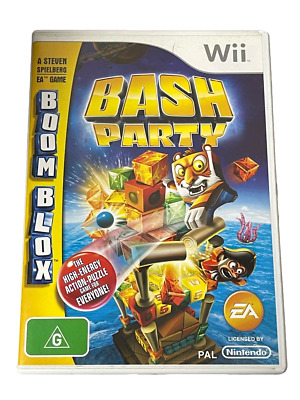 Boom Blox Bash Party Nintendo Wii PAL *Complete* Wii U Compatible