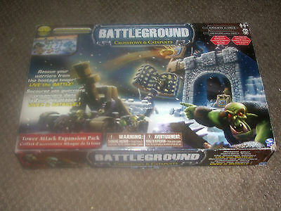 BATTLEGROUND: Crossbows & Catapults Expansion Pack-Knights vs Orcs-Complete