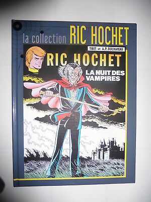 "Collection ""ric Hochet"" : N° 34 : ""la Nuit Des Vampires"" : Neuf"
