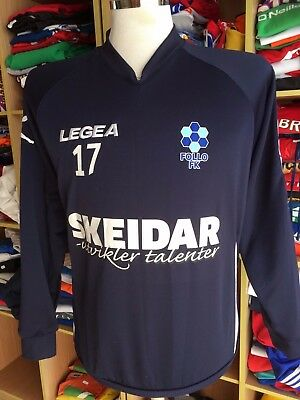 Issue SWEATSHIRT TOP Shirt Follo FK (M Legea Norwegen Shirt Norway Jersey Trikot