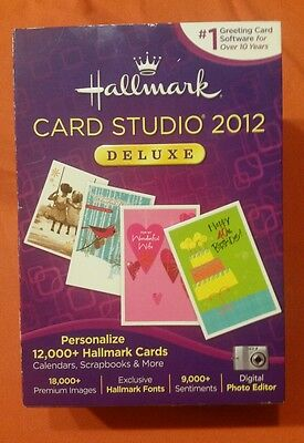Hallmark Card Studio 2012 Deluxe Greeting Card Software Personalize Cards