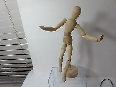 "13"" Artists Wooden Mannequin IKEA  Poseable Sketch Drawing New"
