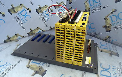 Fanuc A03B-0801-C012 I/O Base Unit With 3 Modules