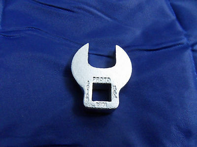 "NEW PROTO J4916M 16mm Crowfoot Wrench, 3/8"" drive  Free US Shipping"