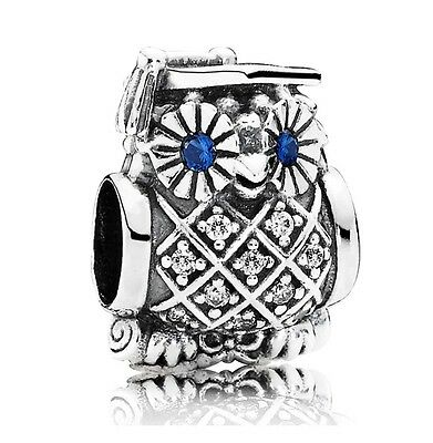 Graduation Owl Charm Genuine Sterling Silver University degree gift College