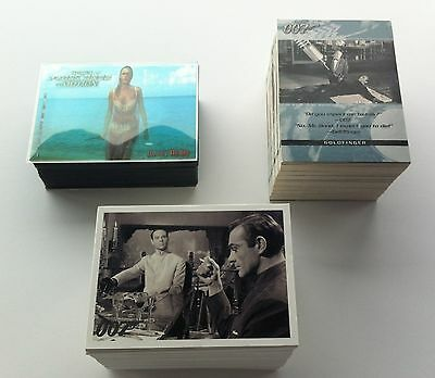 James Bond - 3 Different Base Sets of trading cards by Rittenhouse 2003 - 2006
