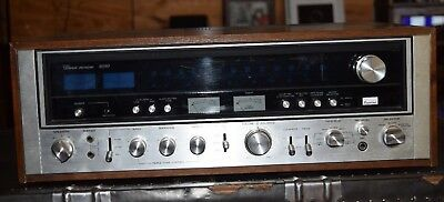 Sansui 9090 Vintage Stereo Receiver Refurbished, Tested & Working Good Condition