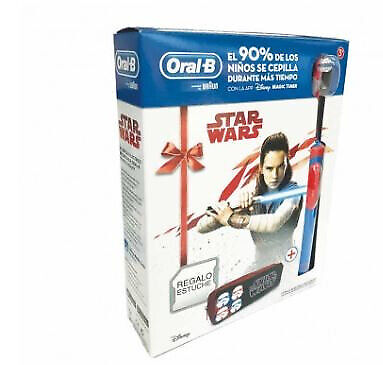 Pack Cepillo Dental Braun D12 Vitality Star Wars