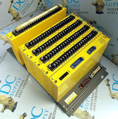 Fanuc A03B-0801-C012 N0812 I/O Base Unit With 6 Modules