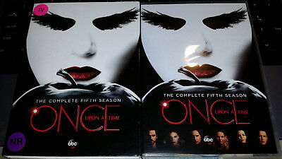Once Upon A Time: The Complete Fifth Season (DVD, 2016, 5-Disc Set) *USED*