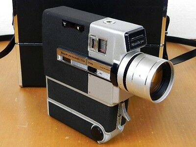 Cinepresa SANKYO Super CM-300 Made in Japan Super8 Funzionante Custodia Vintage