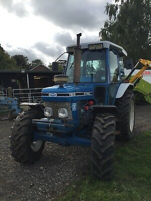 Ford 7610 Tractor Super Q Cab , New  Holland