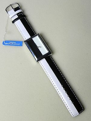 Lotto 10 Orologi da polso unisex Tested by SECTOR Group Bianco Nero Gadget New