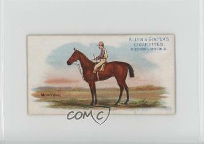 1888 Allen & Ginter The World's Racers Tobacco N32 #MONT Montrose Card 1s8