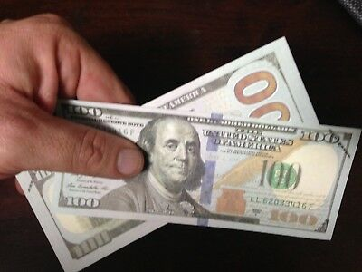 1 X $100 = $100 Premium Quality Clarity Movie Cash My Best Prop Gag Fake Money