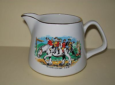 """Vintage Lord Nelson """"widecombe Fair - Peter Davey"""" Jug"""
