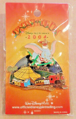 Disney WDW Flying Dumbo Train 2004 Spectacle of Pins Christmas Event LE 750 Pin