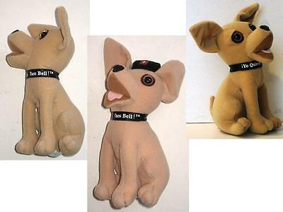 3 Applause Taco Bell Chihuahua !Yo Quiero Beanbag Plush Toy
