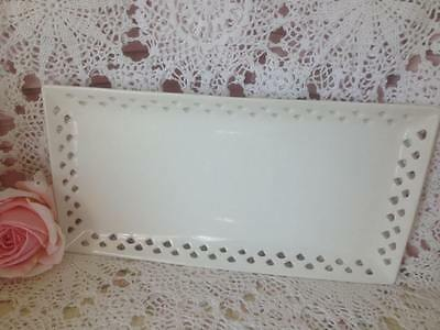 Shabby/french ~ Maxwell & Williams ~ Porcelain ~ Lace ~ Rectangle Serving Tray