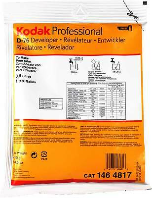 Kodak D76 B&W film developer(power), to make 1 Gallon/3.8Litre pack