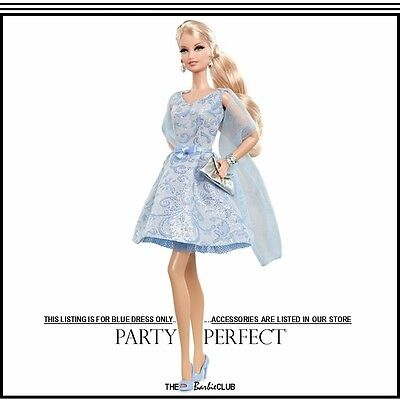 Barbie Look Collection Party Perfect Dress Only For The Adult Collector #X9200