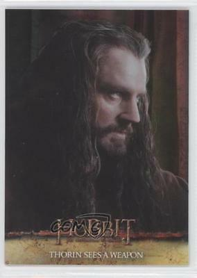2015 Cryptozoic The Hobbit: Desolation of Smaug 39 Thorin Sees a Weapon Card 2q2