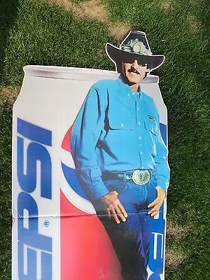 Pepsi Cola Richard Petty Store Display 73 Inches NO SHIPPING LOCAL PICKUP