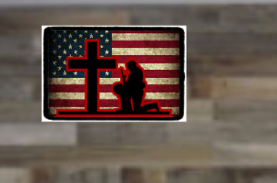Kneel For The Cross, Morale Patch, Tactical, Stand For The Flag and Anthem
