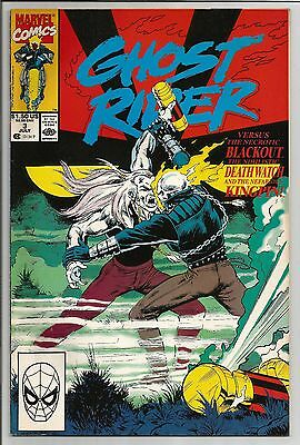 Ghost Rider #3 July 1990 Marvel Comics Great Shape VF/NM