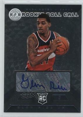 2013 Totally Certified Rookie Roll Call Signatures Silver #5 Glen Rice Jr Auto