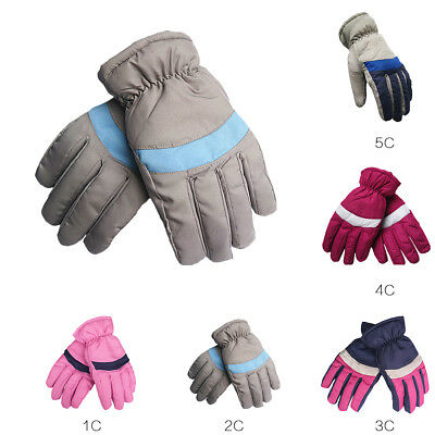 Unisex Women Winter Warm Waterproof Motorcycle Ski Gloves Touch Driving Gloves