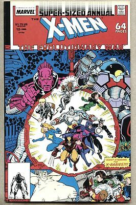 X-Men Annual #12-1988 fn/vf Uncanny X Men Art Adams X-Babies