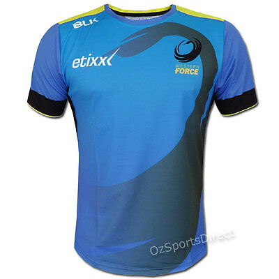 Western Force 2016 Training T-Shirt  Sizes S - 3XL  **SALE PRICE**