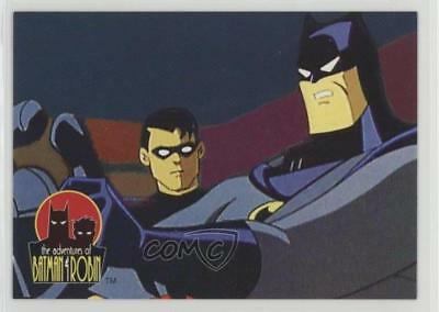 1995 Skybox Adventures of Batman & Robin #14 Tension In The Air Card 0c4