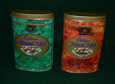 Retro Cadbury's Almond And Hazel Nuts Tins/1993/england