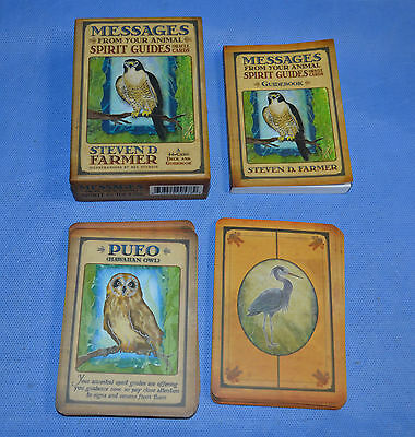 Messages From Your Animal Spirit Guides Oracle Cards Steven D. Farmer