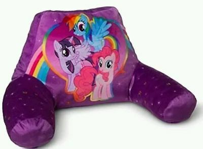 MY LITTLE PONY Pillow Pinkie Twilight Rainbow Bed Rest Lounge Read Back Purple