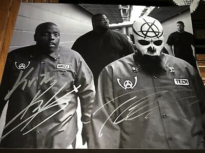 Tech N9ne And Kris Kaliko Signed Picture