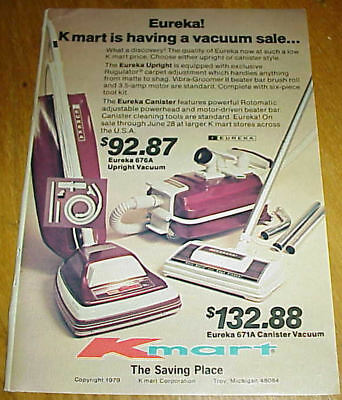 Vintage Ads Sears Kenmore Powermate Vacuum Cleaners Canister Hoover #093017