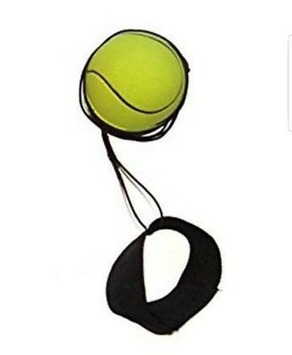 Come Back Ball Rubber Ball With String (Tennis Ball)..