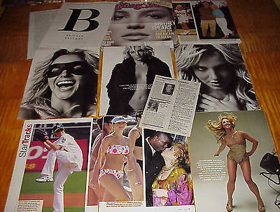 Britney Spears Clippings 7 Lots #081317