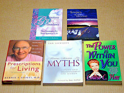 5 Inspirational Books Prescriptions for Living The Power is Within You Experienc